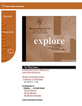 explore, Fall 1998: Jesuits and academic culture
