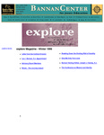 explore, Winter 1998: Spirituality