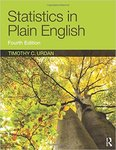 Statistics in Plain English (4th edition) by Tim Urdan