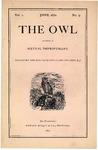 The Owl, vol. 1, no. 5