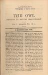 The Owl, vol. 2, no. 3