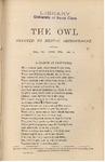 The Owl, vol. 3, no. 4