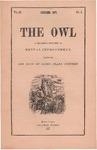 The Owl, vol. 4, no. 1