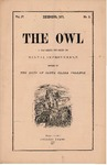 The Owl, vol. 4, no. 3