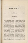 The Owl, vol. 4, no. 5