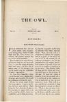 The Owl, vol. 4, no. 5