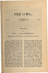 The Owl, vol. 6, no. 1